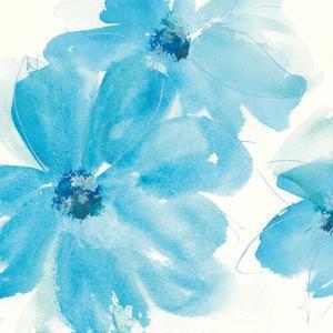 Aqua Mint Clematis I by Chris Paschke
