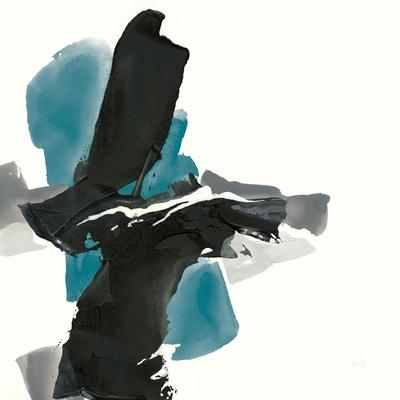 Black and Teal IV