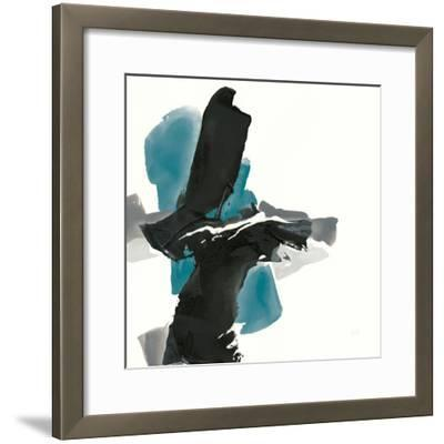 Black and Teal IV by Chris Paschke