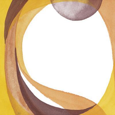 Brown Geometric I by Chris Paschke