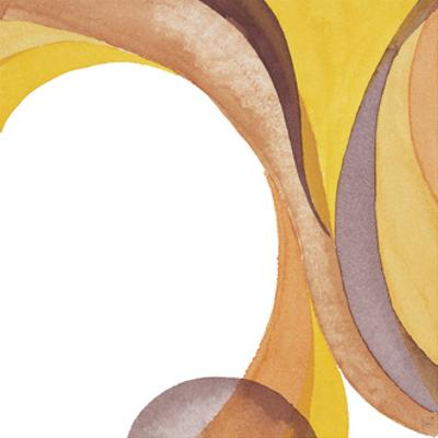 Brown Geometric II by Chris Paschke