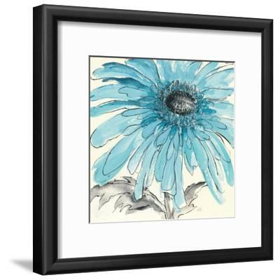 Gerbera Blue III by Chris Paschke