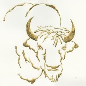 Gilded Bison by Chris Paschke
