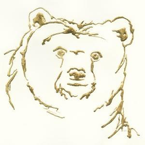 Gilded Brown Bear by Chris Paschke