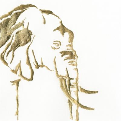 Gilded Elephant by Chris Paschke