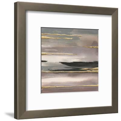 Gilded Morning Fog II Gold by Chris Paschke