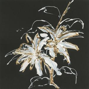 Gilded Poinsettias by Chris Paschke