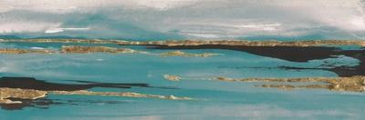 Gilded Storm II Teal Grey Crop by Chris Paschke
