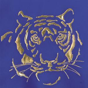 Gilded Tiger Indigo by Chris Paschke
