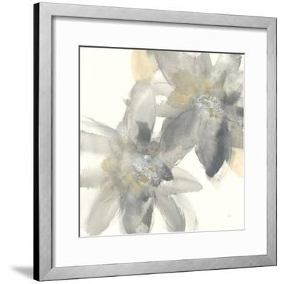 Gray and Silver Flowers II by Chris Paschke