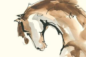 Horse Head II by Chris Paschke