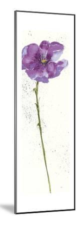 Mint Poppies I in Purple Crop by Chris Paschke