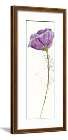 Mint Poppies II in Purple Crop by Chris Paschke