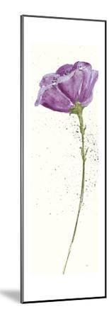 Mint Poppies II in Purple Crop by Chris Paschke