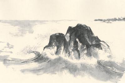 Ocean Waves by Chris Paschke