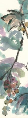 Pastel Grape Panel I by Chris Paschke