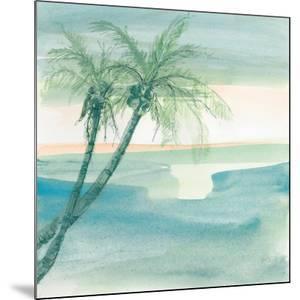 Peaceful Dusk I Tropical by Chris Paschke