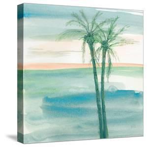 Peaceful Dusk II Tropical by Chris Paschke