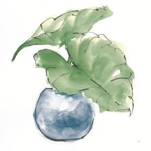 Plant Big Leaf III Dark Green by Chris Paschke