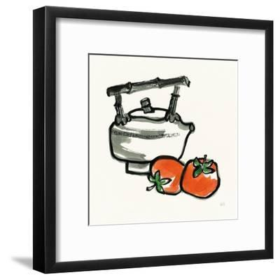 Tea and Persimmons by Chris Paschke