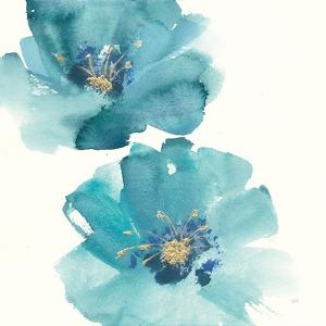 Teal Cosmos III by Chris Paschke