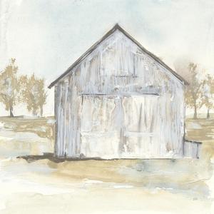 White Barn I by Chris Paschke