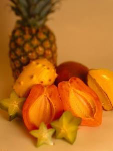 Assortment of Tropical Fruit by Chris Rogers