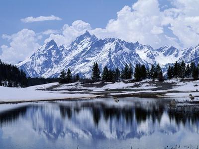 Grand Teton Reflected in Lake