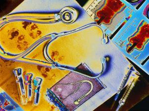 Medical Still Life by Chris Rogers