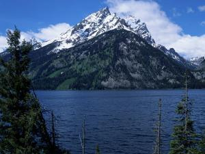 Mountain and Lake, Grand Teton National Park, WY by Chris Rogers