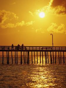 Sunset Over Virginia Beach, VA by Chris Rogers