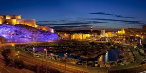 Europe, South of France, Mediterranean Coast, Provence, Marseille, Vieux Port Harbour, Evening by Chris Seba