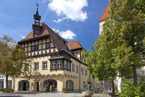 Germany, Bavaria, Regensburg, Cityscape by Chris Seba