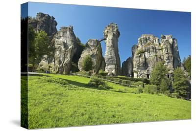 Germany, North Rhine-Westphalia, Horn-Bad Meinberg, Externsteine