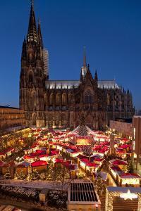 Germany, North Rhine-Westphalia, Rhineland, Cologne, Christmas Market by Chris Seba