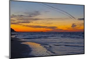 Germany, the Baltic Sea, Island Usedom, Heringsdorf, Beach, Pier, Evening Mood by Chris Seba