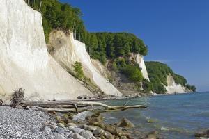 Germany, the Baltic Sea, Western Pomerania, Island R?gen, Chalk Rock by Chris Seba