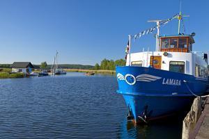 Germany, the Baltic Sea, Western Pomerania, Island R?gen, Seedorf, Rowing Boat Ferry by Chris Seba
