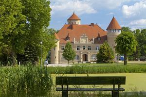 Germany, Western Pomerania, Island Usedom, Castle Stolpe by Chris Seba