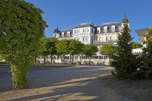 Germany, Western Pomerania, Island Usedom, Seaside Resort Ahlbeck, Luxury Hotel Ahlbecker Hof by Chris Seba