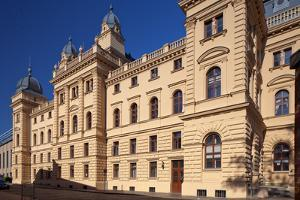 Germany, Western Pomerania, Schwerin, Mecklenburg State Theatre by Chris Seba