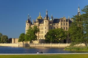 Germany, Western Pomerania, Schwerin Palace by Chris Seba