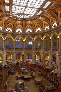 Spain, Madrid, Stock Exchange, Indoors, Rights Clarifies by Chris Seba