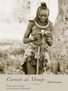 Himba Girl with Shell by Chris Simpson