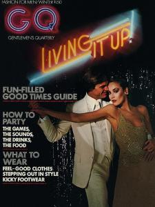 GQ Cover - December 1975 by Chris Von Wangenheim