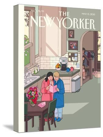 Mothers' Day - The New Yorker Cover, May 13, 2013