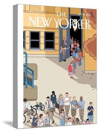 The New Yorker Cover - September 17, 2012