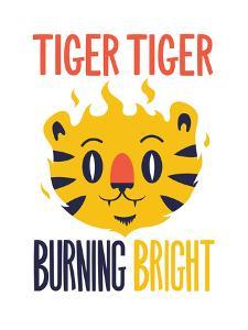 Tiger Tiger Burning Bright by Chris Wharton