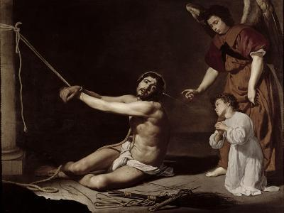 Christ After the Flagellation Contemplated by the Christian Soul, c.1628-9-Diego Velazquez-Giclee Print