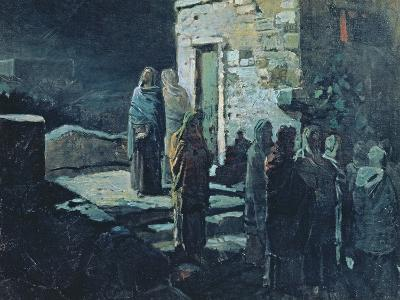 Christ after the Last Supper in Gethsemane, 1888-Nikolai Nikolajevitch Gay-Giclee Print